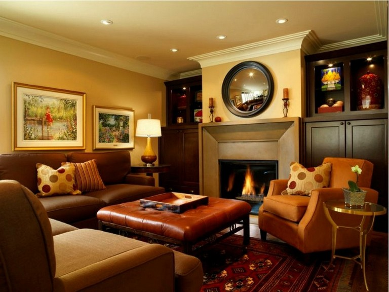 20 Chosen Warm Living Rooms That You Ll Love Too Page 7