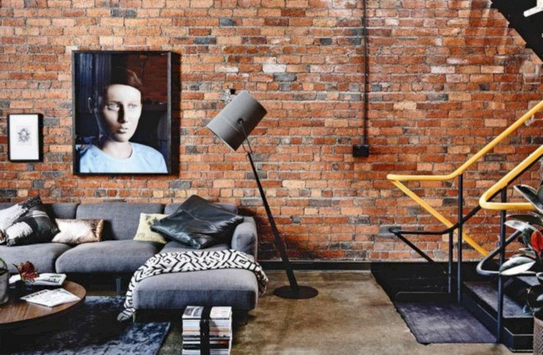 30 Awesome Brick Walls Ideas For A Living Room Design